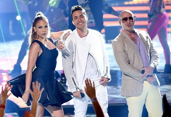 Jennifer Lopez, Pitbull, Prince Royce, American Idol