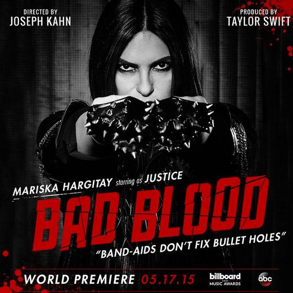 Mariska Hargitay, Taylor Swift, Bad Blood, Instagram