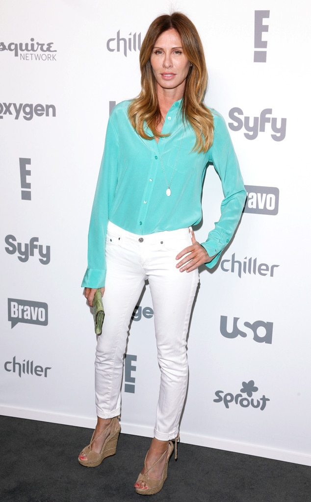 Carole Radziwill From 2015 Nbcu Cable Upfront Red Carpet