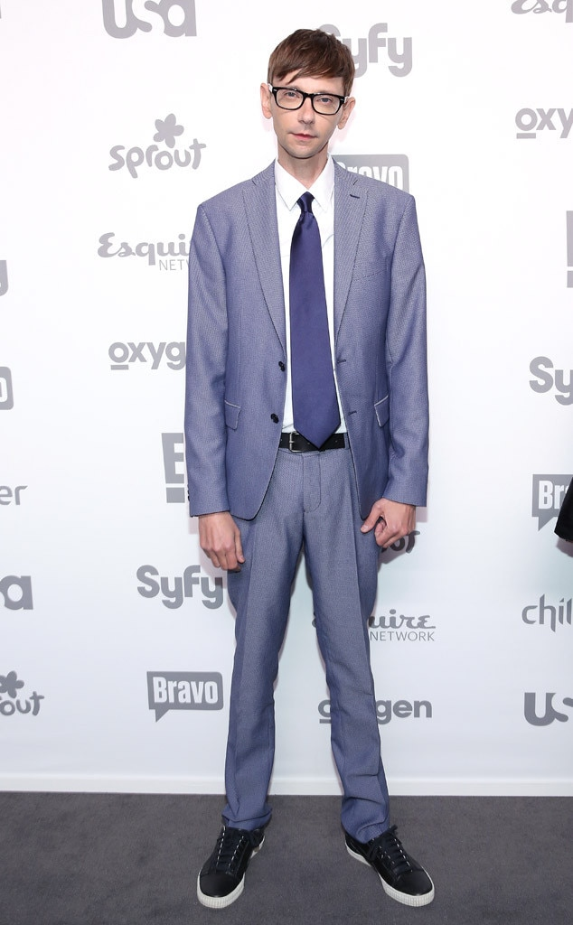Dj Qualls From 2015 Nbcu Cable Upfront Red Carpet