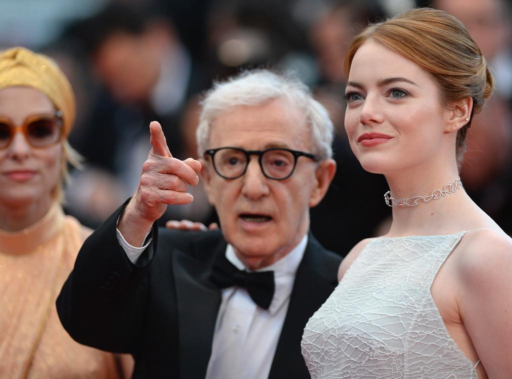 Woody Allen, Emma Stone, Cannes