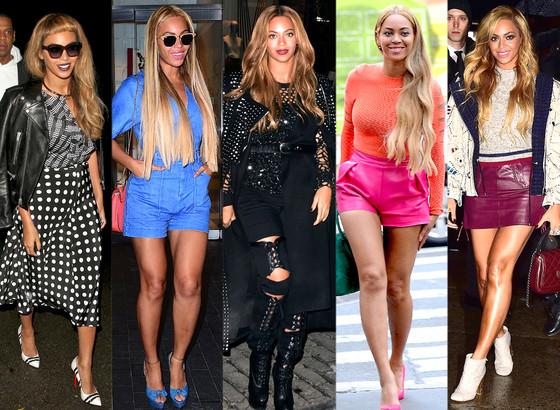 O street style de Beyoncé