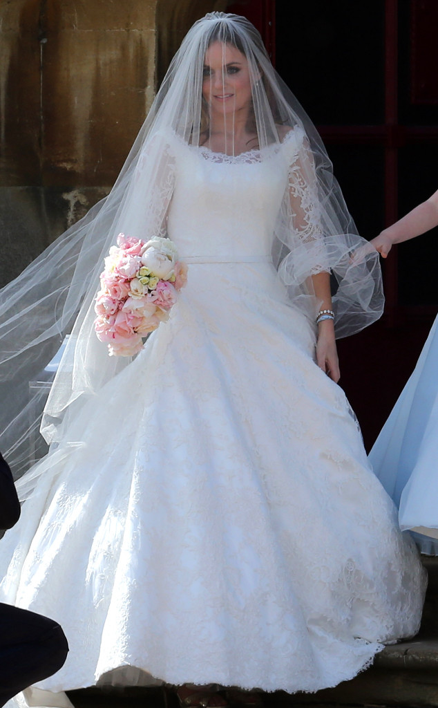 ESC: Geri Halliwell, Wedding