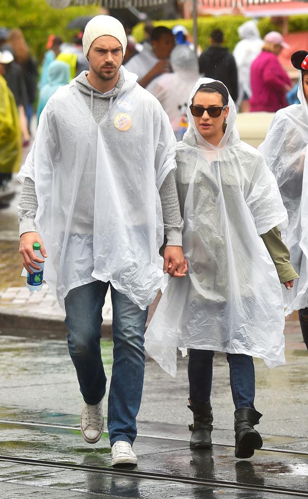 Lea Michele, Matthew Paetz, Disney