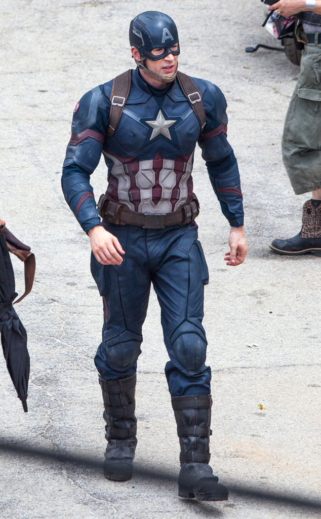 Chris Evans, Captain America