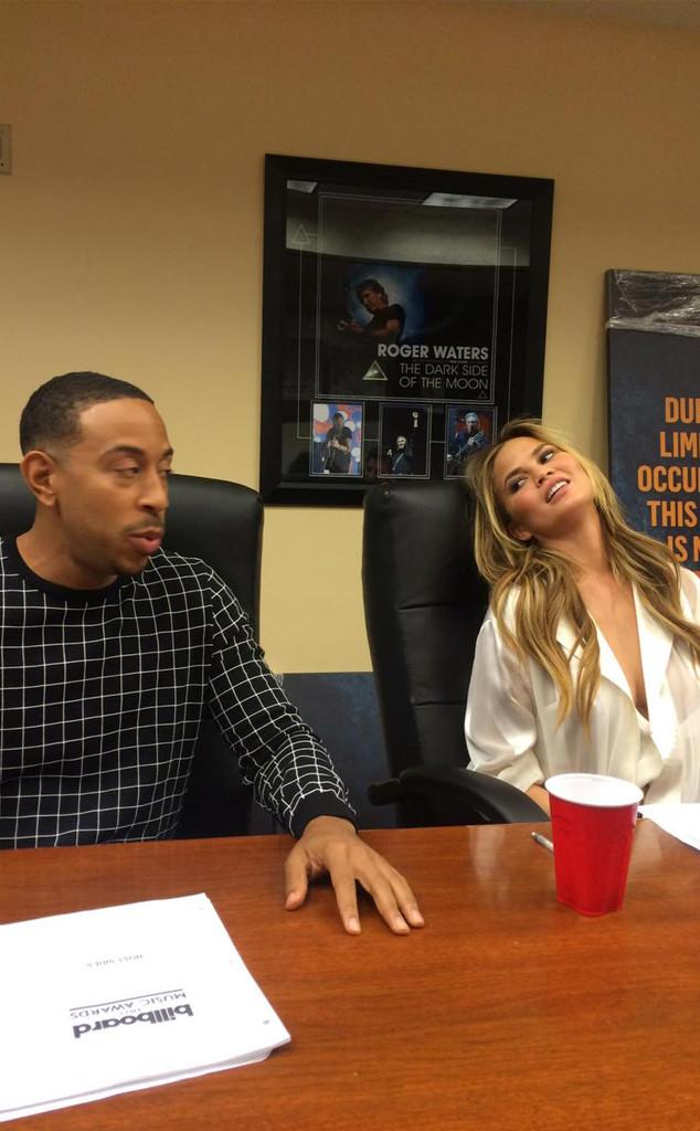 Chrissy Teigen, Ludacris, Twitter