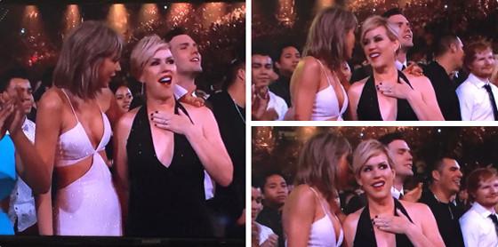 Taylor Swift, Molly Ringwald, Billboard Music Awards 2015