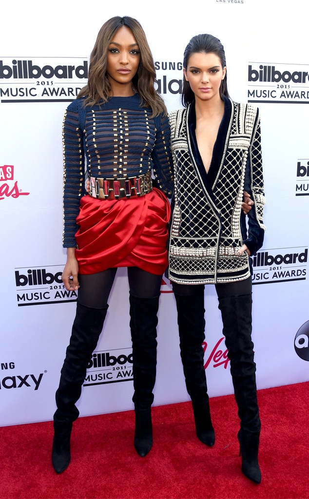 Jourdan Dunn, Kendall Jenner, Billboard Music Awards 2015