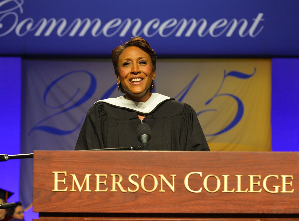 Robin Roberts, Emerson College