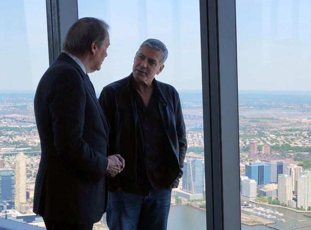 Charlie Rose, George Clooney