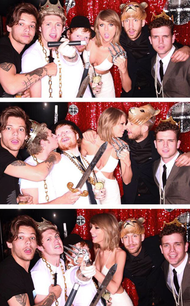 Taylor Swift Parties With One Direction's Niall Horan and