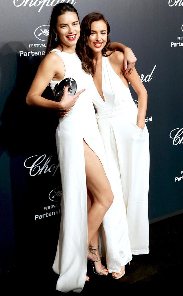 Adriana Lima, Irina Shayk, Cannes 2015