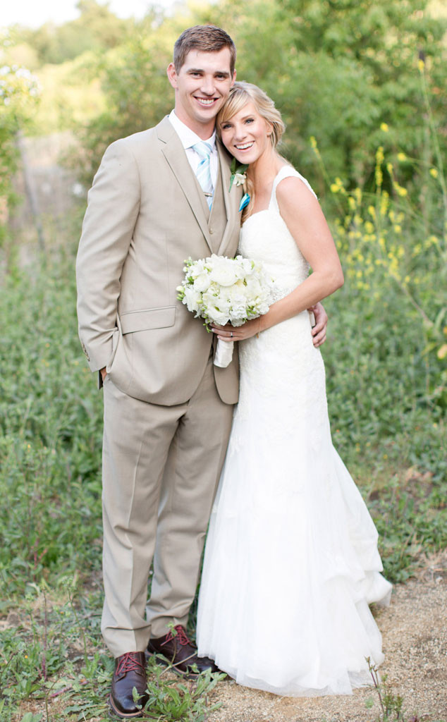 Heather Morris, Taylor Hubbell, Wedding