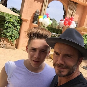Brooklyn Beckham, David Beckham Instagram