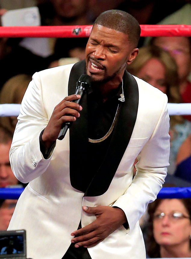 Boxing Fight, Jamie Foxx