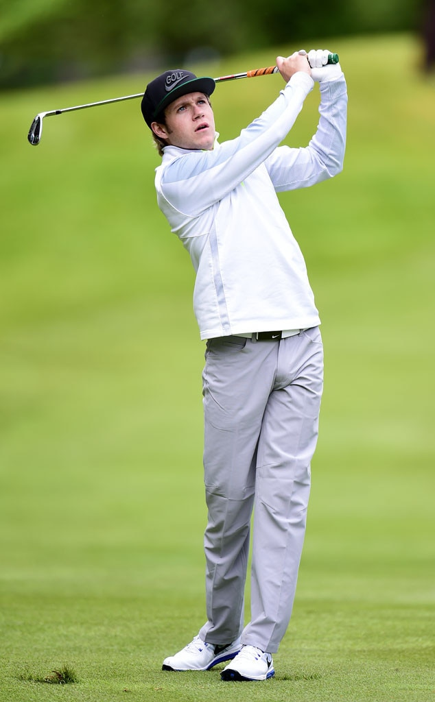 Niall Horan -  Nobody can drag this former  One Direction  member down when he's on the golf course.