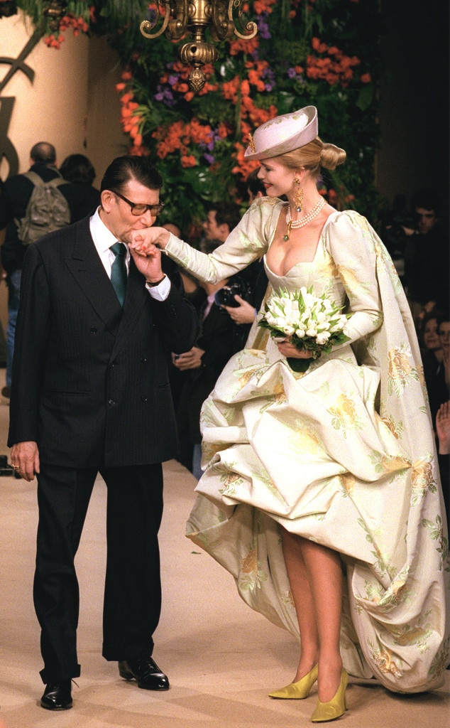 Yves Saint Laurent, 1997 from Most Show-Stopping Wedding Gowns Ever ...
