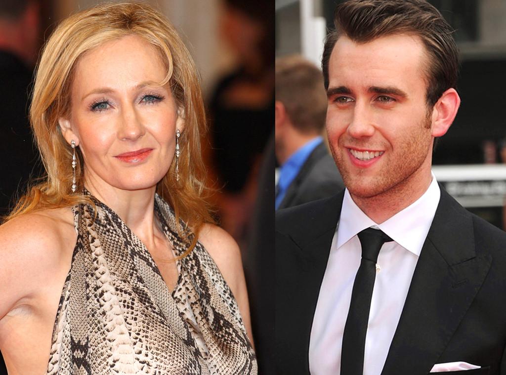 JK Rowling, J.K. Rowling, Matthew Lewis