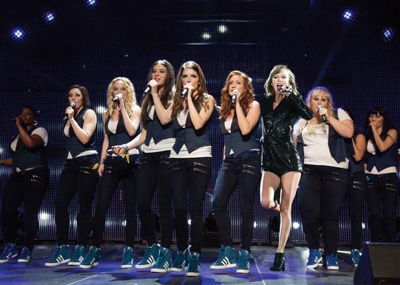 Pitch Perfect 2, Taylor Swift
