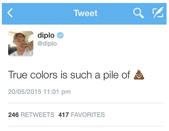 Diplo Tweet