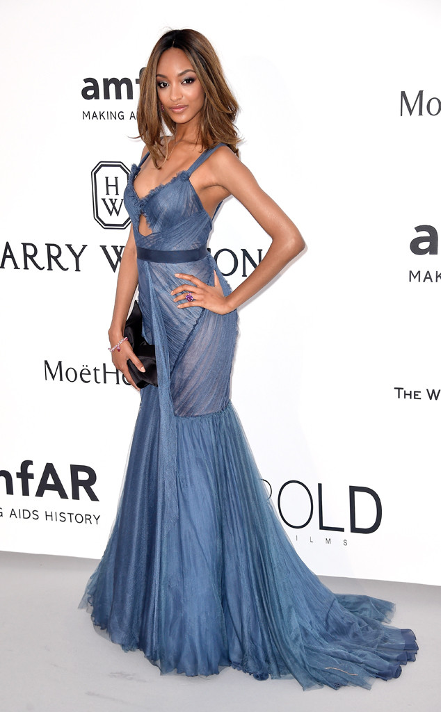 Jourdan Dunn, amfAR, Cannes