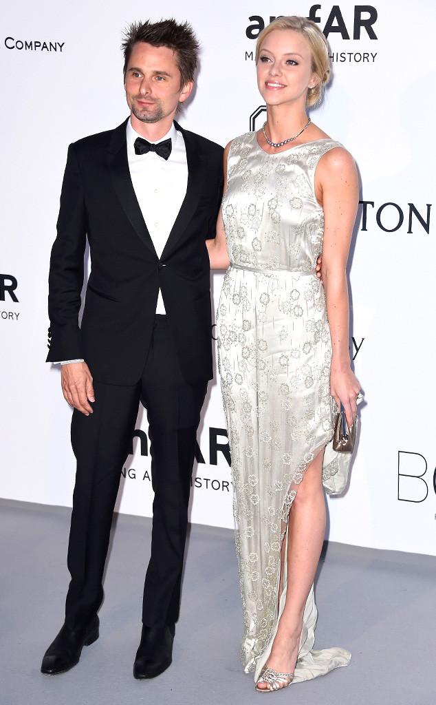 Matt Bellamy, Elle Evans, amfAR, Cannes