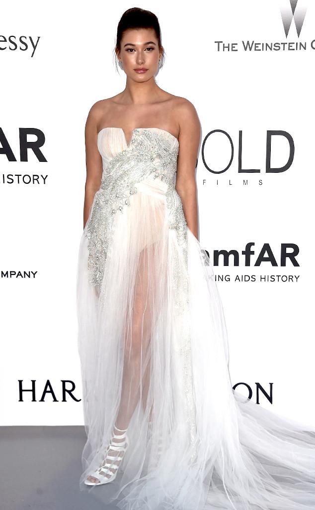 Hailey Baldwin, amfAR, Cannes