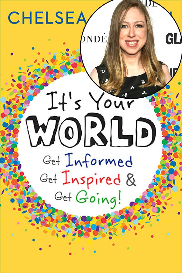 Chelsea Clinton -  Politicians' daughter is releasing her first book this coming September.