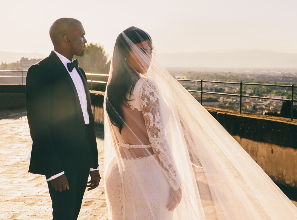 Presenting Mr. And Mrs. West From Kim Kardashian & Kanye