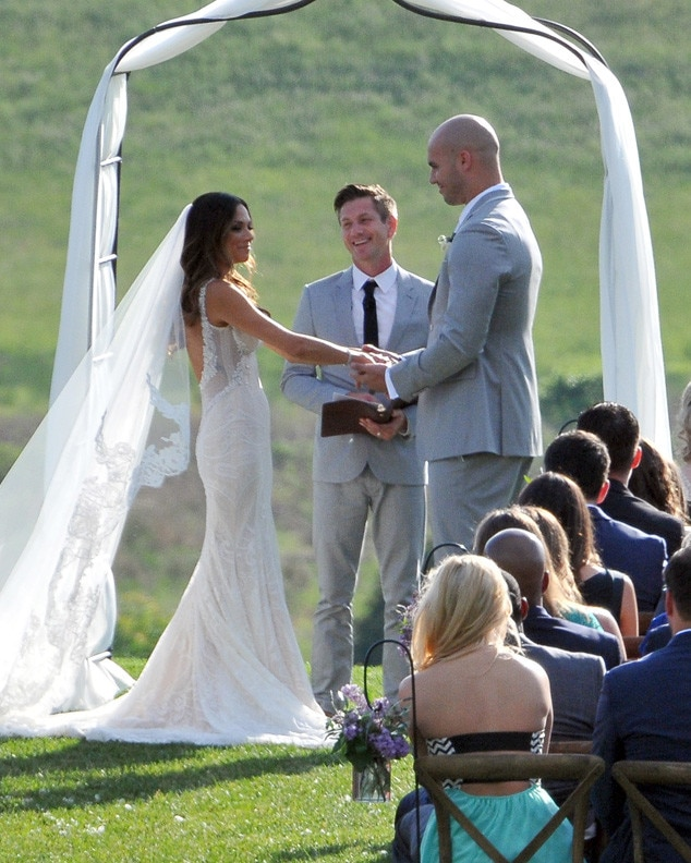 Jana Kramer, Michael Caussin, Wedding