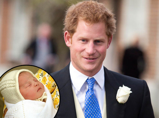 Prince Harry, Princess Charlotte