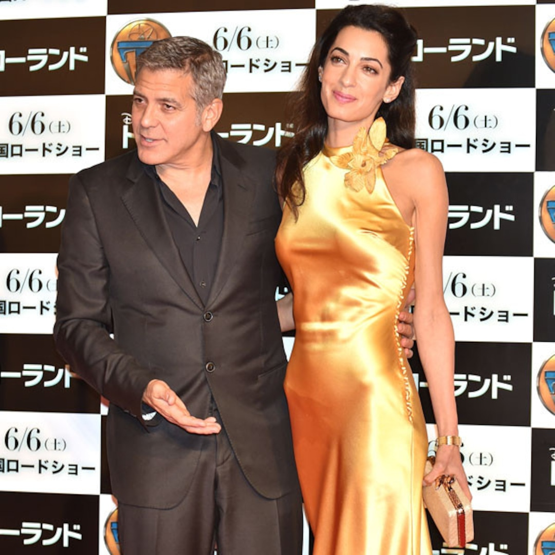 Amal Clooney's Elegant Yellow Gown Steals The Spotlight At