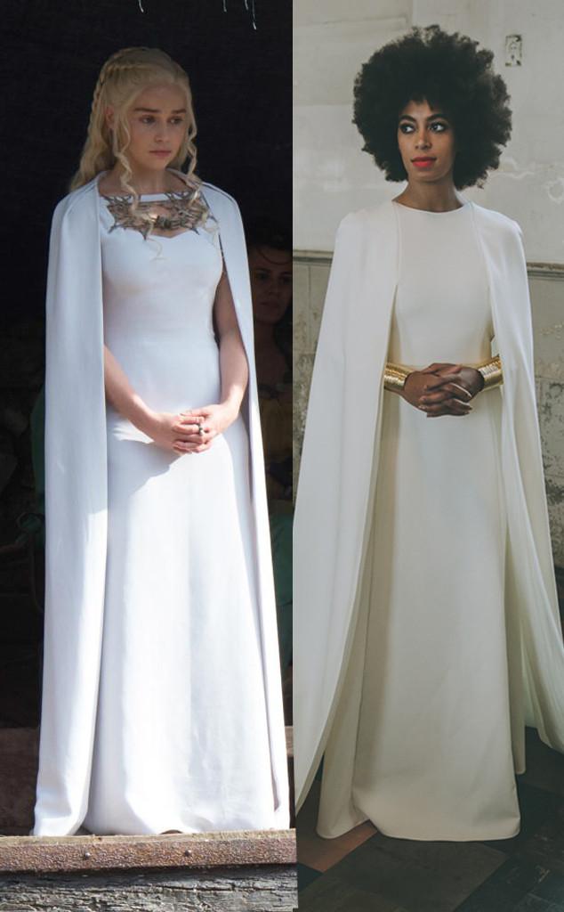 Wedding Dress Designers Game.Did Game Of Thrones Steal Solange Knowles Wedding Dress Look See
