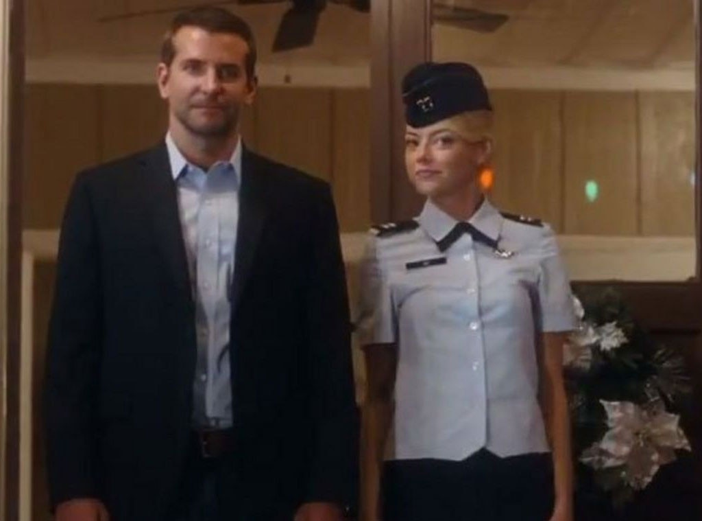 Emma Stone, Aloha, Hot Stars in Uniforms