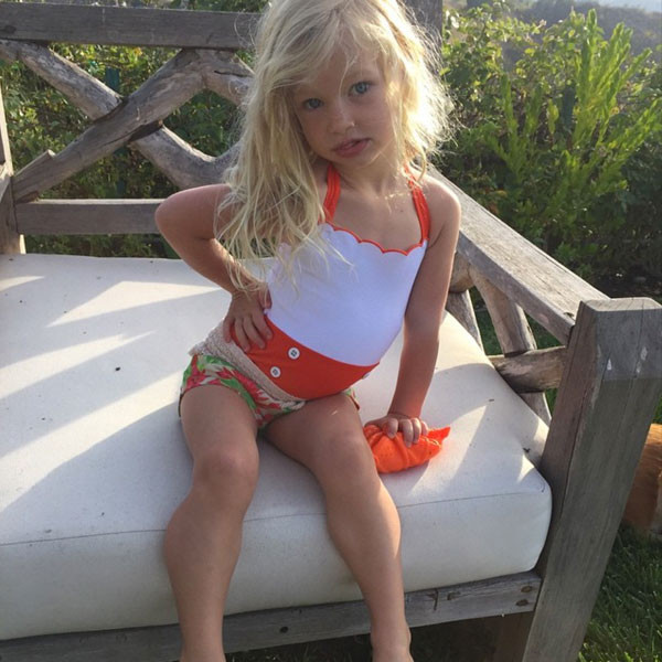 2bd1a802d0 Jessica Simpson's Daughter Maxwell Models a Swimsuit Just Like Her Mama—See  the Pics!