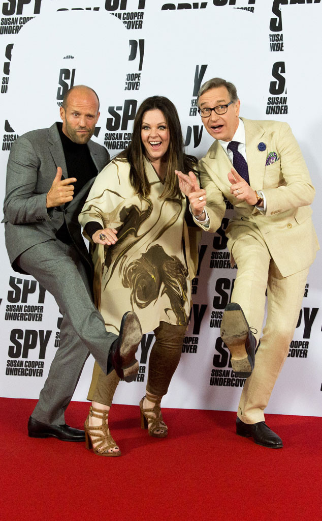 Jason Statham, Melissa McCarthy, Paul Feig