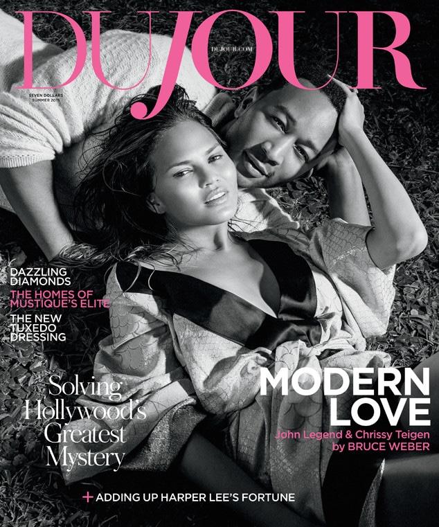 Chrissy Teigen, John Legend, Dujour Magazine