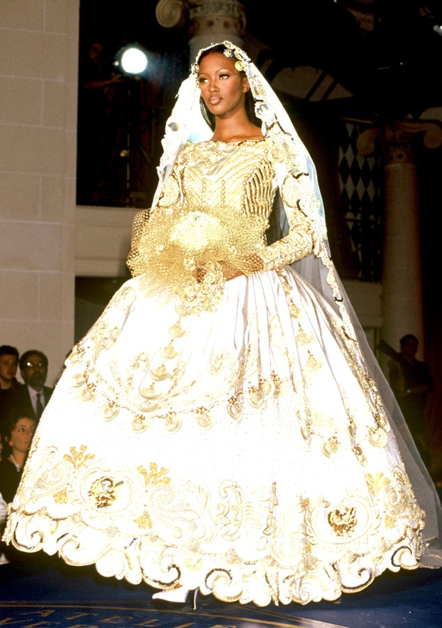 Gianni Versace, 1992 from Most Show-Stopping Wedding Gowns Ever to ...