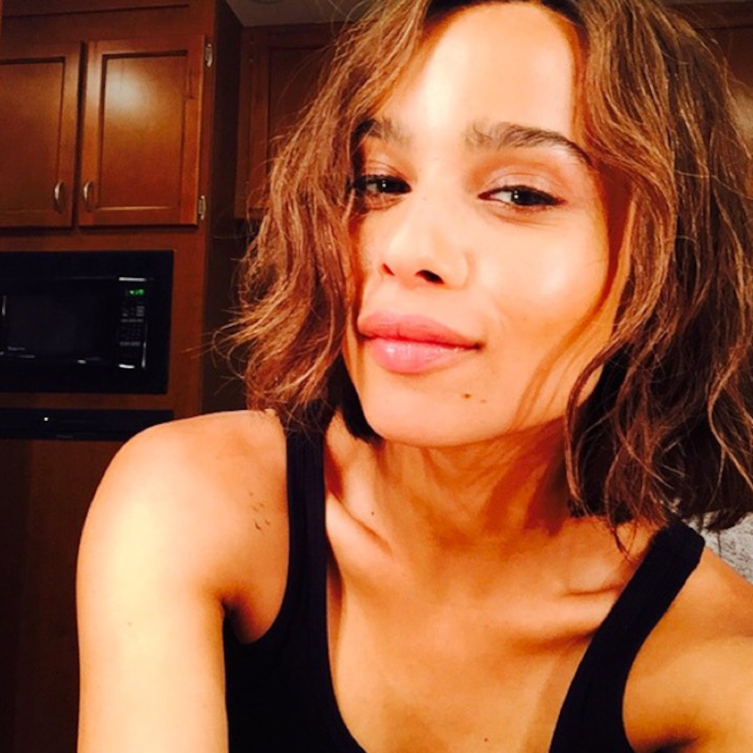 Zoe Kravitz Ditches Braids Goes Back To Bob Find Out Why E Online