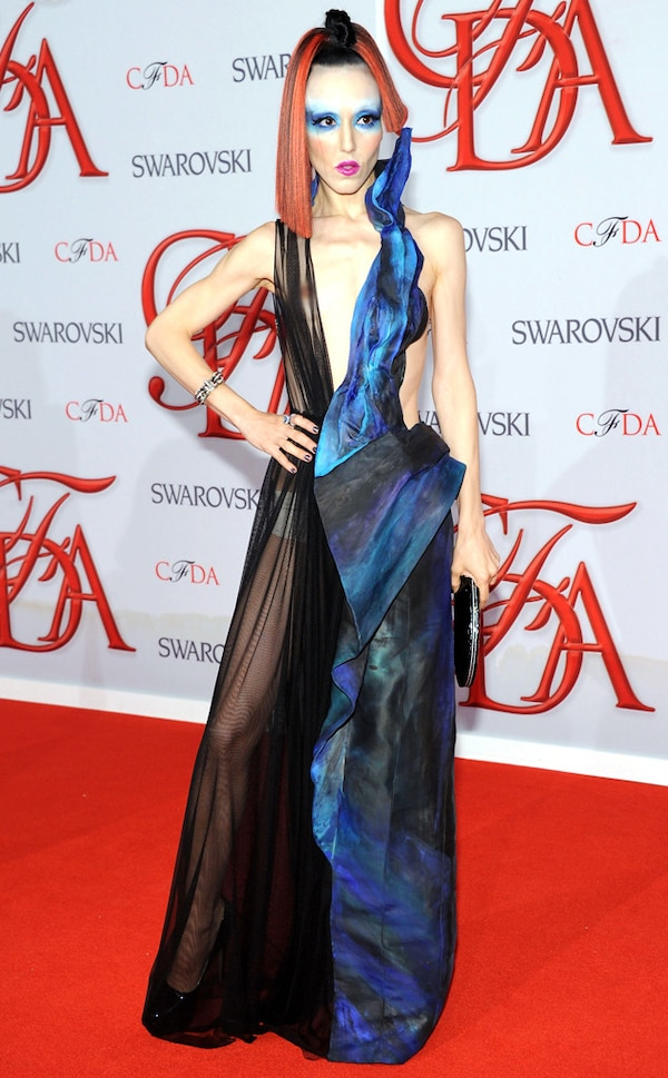 Michelle Harper from Worst CFDA Fashion Awards' Dresses of ...