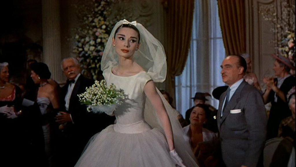 Best TV/Movie Weddings, Funny Face, Audrey Hepburn