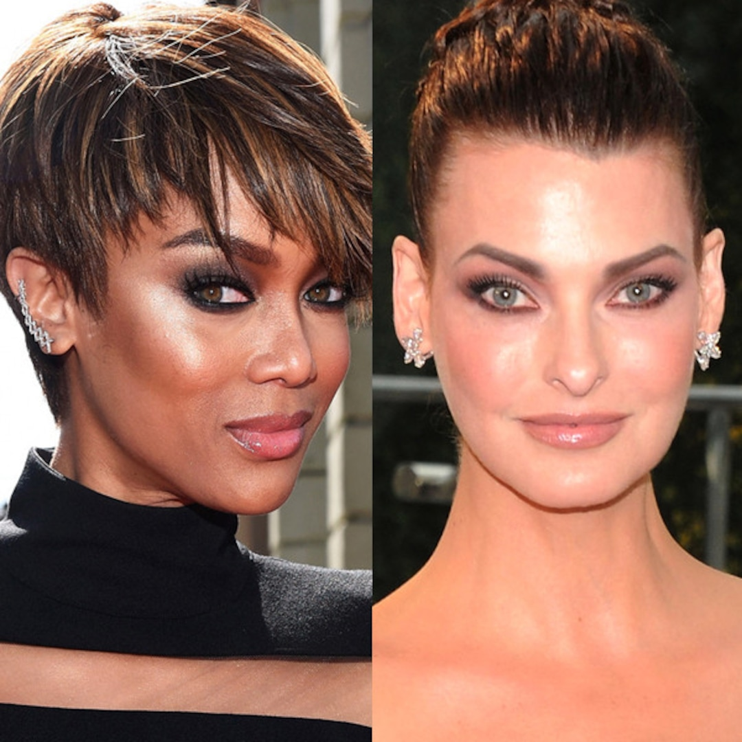 Did Linda Evangelista Just Throw Shade at Tyra Banks?! See Her Catty Comments - E! Online