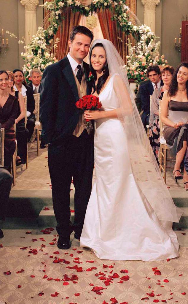 Friends Wedding, Courteney Cox, Mathew Perry, TV Weddings