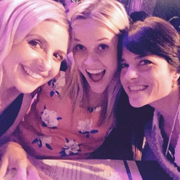 "The Ultimate Reunion -  Talk about a lucky night to attend  The Unauthorized Musical Parody Of Cruel Intentions , as back in May 2015, Witherspoon, Gellar and Blair had a mom's night out, attending one of the shows together.    Witherspoon Instagrammed several photos of the trio, calling the outing the  ""best girls' night of the year!!!""  And E!"