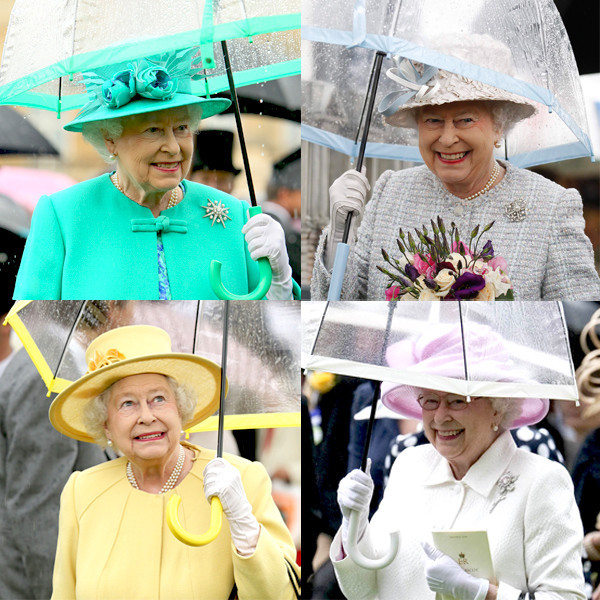 Queen Elizabeth II, Umbrella
