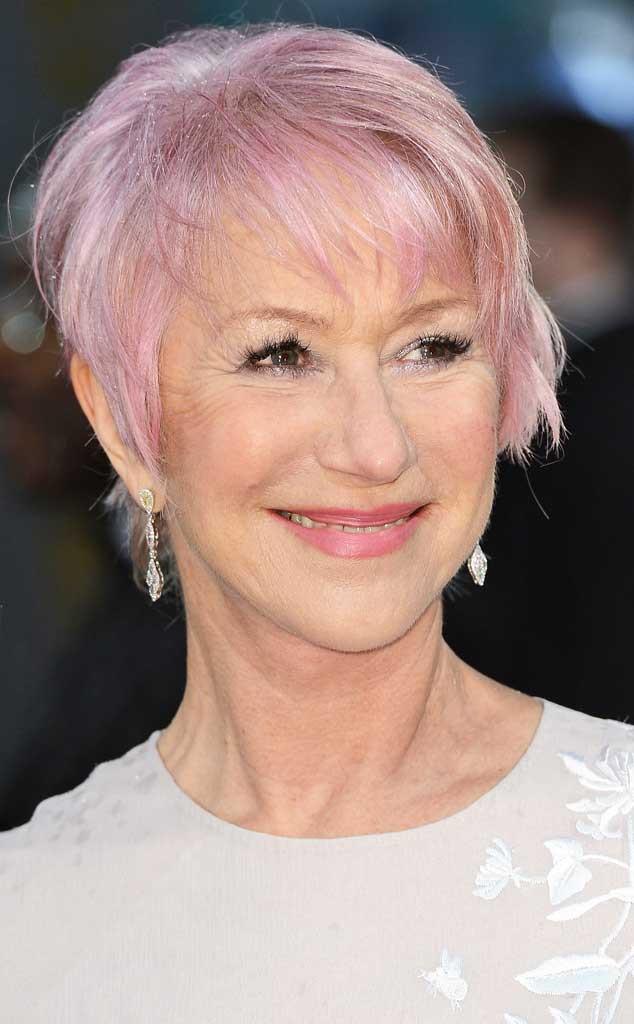 Pink Hair, Helen Mirren