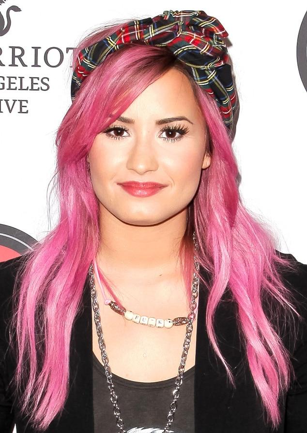 Pink Hair, Demi Lovato