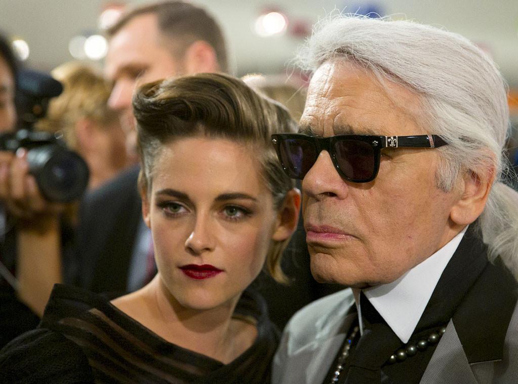 Karl Lagerfeld, Kristen Stewart