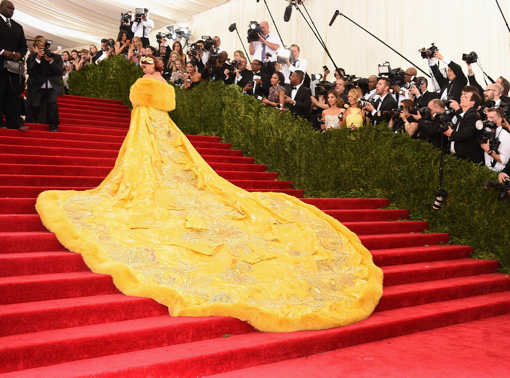 Rihanna's Iconic Met Gala Outfit Is Now on Display In Singapore