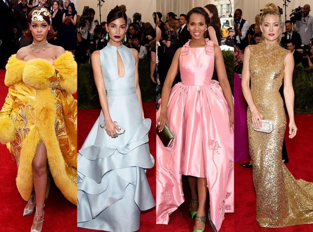 Kate Hudson, Lily Aldridge, Kerry Washington, Rihanna, Best Dressed, Met Gala 2015